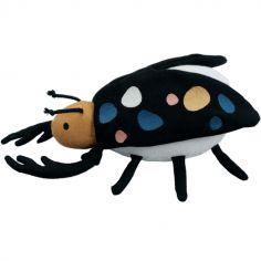 Hochet peluche Bertil le scarabée