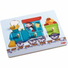 Puzzle à encastrement Petit train (5 pièces)