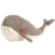 Peluche Adam la baleine grise (22 cm)