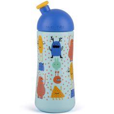 Gourde avec bouchon sport anti-fuites Booo bleue (360 ml)