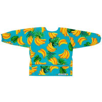 Bavoir à manches longues avec poche banane  par Twistshake