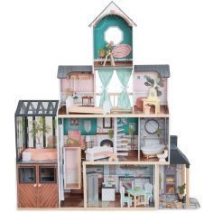 Maison de poupée avec véranda Celeste