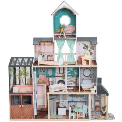 Maison De Poupee Avec Veranda Celeste