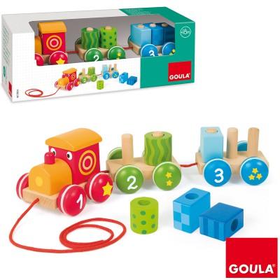 Train à assembler 1,2,3  par Goula