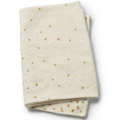 Couverture point mousse Gold Shimmer (70 x 100 cm)