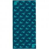 Echarpe multi-usages Splash & Fun Twister baleine bleue - Lässig