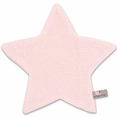 Doudou plat étoile Classic rose (30 x 30 cm)