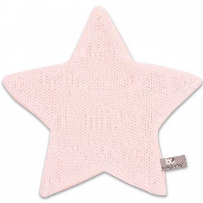 Doudou plat étoile Classic rose (30 x 30 cm) Baby's Only