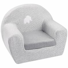 Fauteuil club Tembo gris