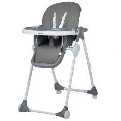 Chaise haute pliante Looky Warm gray