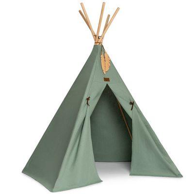 Tente tipi Pure Line Nevada eden green  par Nobodinoz
