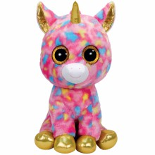 peluche beanie boo 39 s fantasia la licorne 41 cm par ty. Black Bedroom Furniture Sets. Home Design Ideas