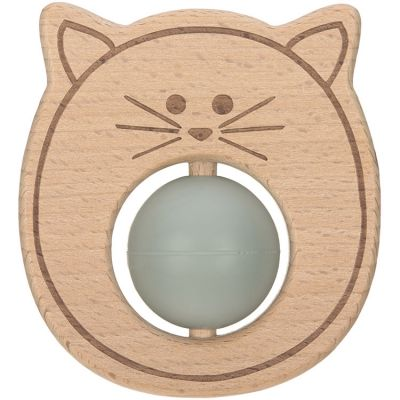 Hochet de dentition chat Little Chums  par Lässig