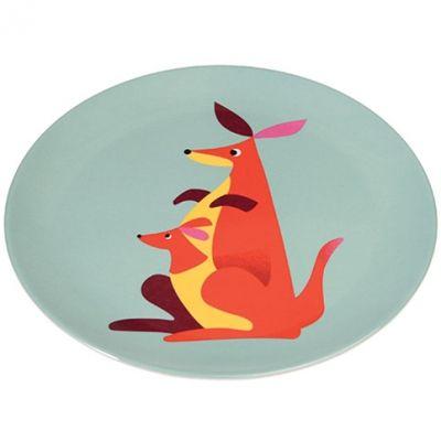 Assiette plate Kangourou  par REX