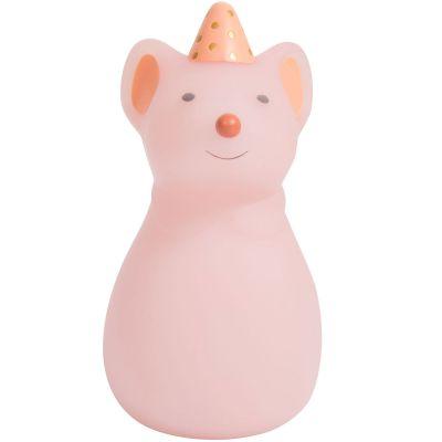 Petite veilleuse souris Il était une fois (14 cm)  par Moulin Roty