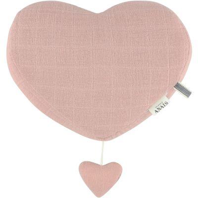 Coeur musical à suspendre Bliss rose  par Trixie