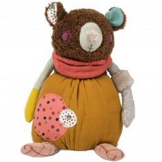 Peluche ours marron Les jolis trop beaux (33 cm)