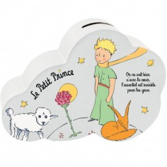 Tirelire Le Petit Prince nuage rose