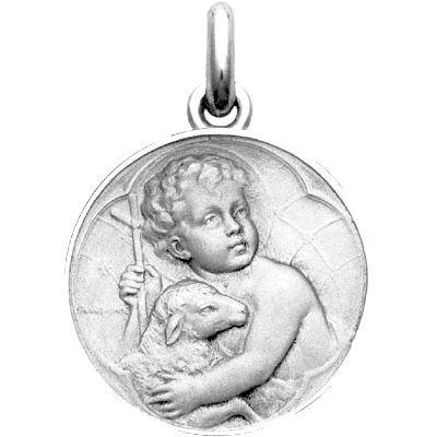 Médaille Enfant Jésus (argent 925°)  par Becker