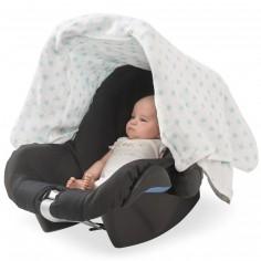 Protection pour maxi cosy Little star étoile turquoise