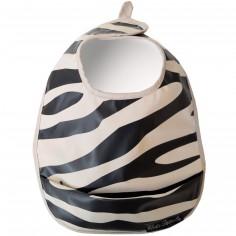 Bavoir plastifié Zebra Sunshine