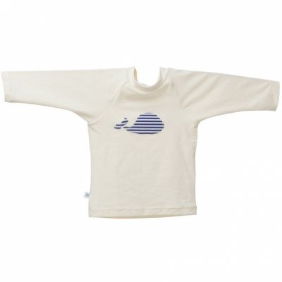Tee-shirt anti-UV Baleine Marin (6 mois)  par Hamac Paris