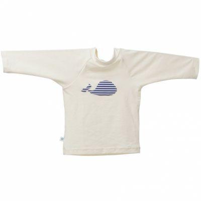 Tee-shirt anti-UV Baleine Marin (6 mois)  par Hamac Paris