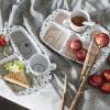 Lot de 3 cuillères Yummy Happy dots gris  par Done by Deer