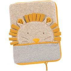 Protège carnet de santé crème Paprika le lion