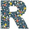Lettre adhésive R Secret garden by Susan Driscoll - Lilipinso