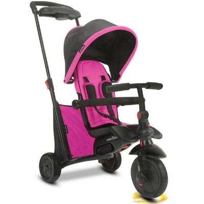 Tricycle évolutif 7 en 1 smarTfold 500 pliant rose