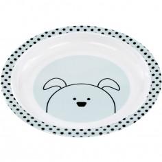 Assiette plate Little Chums chien