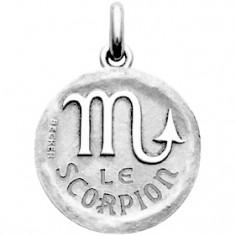 Médaille symbole Scorpion (argent 925°)