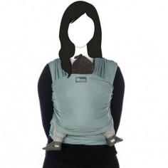 Echarpe de portage Tricot-Slen coton bio silver blue