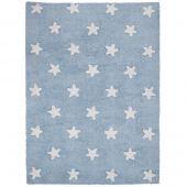 Tapis lavable Etoiles bleu (120 x 160 cm) - Lorena Canals