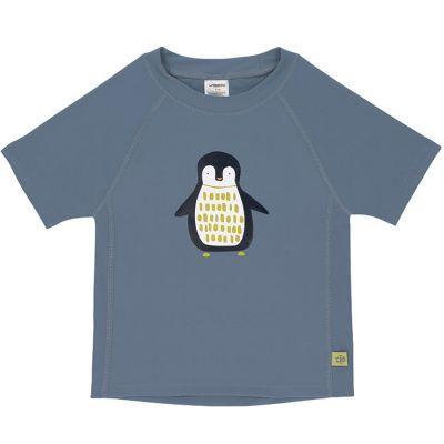Tee-shirt anti-UV manches courtes Pingouin bleu (2 ans)