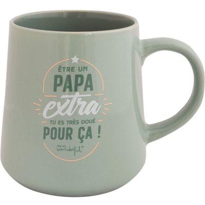 Mug Être un papa extra, tu es très doué pour ça! (365 ml) Mr. Wonderful