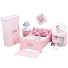Chambre Sugar Plum pour maison de poupée