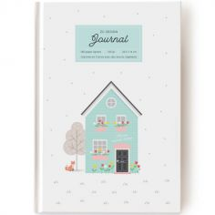 Journal Home sweet home (160 pages lignées)