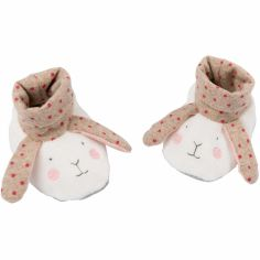 Chaussons lapin Les petits dodos (0-6 mois)