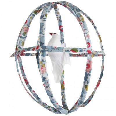 Cage décorative en fil de fer liberty  par De Beaux Souvenirs