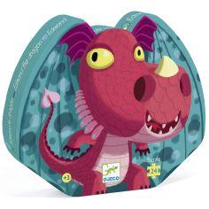 Puzzle Edmond le dragon (24 pièces)