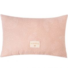 Coussin rectangulaire Laurel White bubble Misty pink (22 x 35 cm)