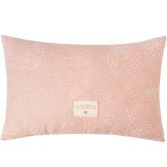 Coussin rectangulaire Laurel White bubble Misty pink (22 x 35 cm)