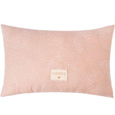 Coussin rectangulaire Laurel White bubble Misty pink (22 x 35 cm)  par Nobodinoz