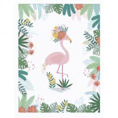 Affiche encadrée Flamant rose Rio (30 x 40 cm)