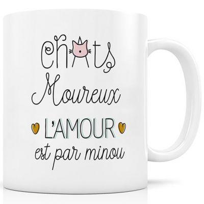 Mug en céramique Chats moureux  par Créa Bisontine