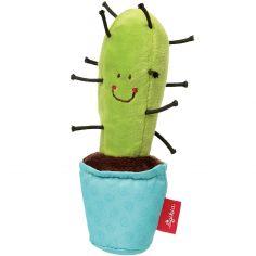 Hochet pouët pouët cactus Red Stars bleu (15 cm)