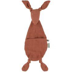 Doudou plat kangourou Bliss Rust