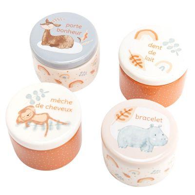 Coffret cadeau de naissance Sam l'hippopotame  par Amadeus Les Petits